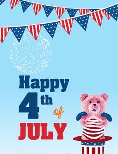 It's a special day to rejoice freedom! Celebrate it with all your pride using #4thofJuly #HappyFourthofJuly #free #cards #greetings wishes.