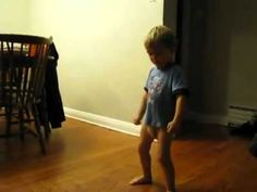"""Here is a little kid dancing to """"I'm Sexy and I know it"""".  It is pretty obvious that he has seen the video quite a bit.  What will happen when he breaks out his pelvis thrust at school?  #LMFAO #Im_Sexy_and_I_know_it"""