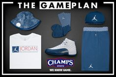 970f1c920754 TheGamePlan By Champs Sports  The Air Jordan 12 French Blue Is ..