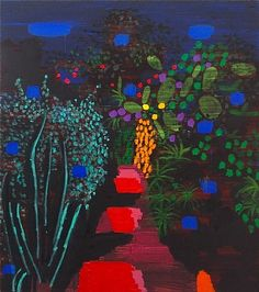 Bruce McLean, Dark Garden Red Path