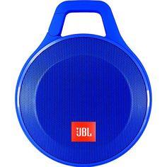 Caixa de Som Bluetooth JBL Speaker Clip + Azul 3,2W RMS Conexão Auxiliar