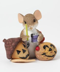 Another great find on #zulily! Acorn Painting Figurine #zulilyfinds