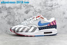 Parra x Nike Air Max 1 QS WhiteMulti Color AT3057 100