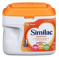 Similac Sensitive Powder, 1.41 lb (638g) SimplePac, Unflavored - 1/Each