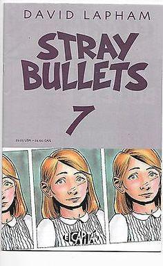 1st Print El Capitan Comics David Lapham Comics Collectibles New Fashion Stray Bullets #9 Nm