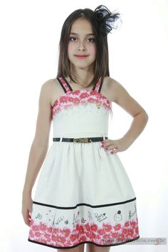 Veja nosso novo produto Vestido Infantil Diforini Moda Infanto Juvenil 010775! Se gostar, pode nos ajudar pinando-o em algum de seus painéis :)