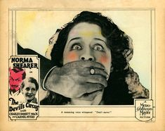 """Norma Shearer in """"The Devil's Circus"""""""
