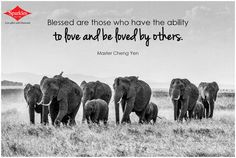 Blesses are those who have the ability to love and be loved by others. #Quotes #Sparkles #Dailythoughts HIT *SHARE