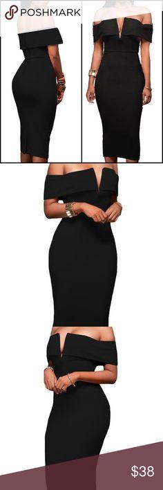 Off Shoulder Bodycon Dress *Brand New Dresses
