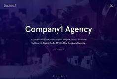 Fine Thought - Flat Design Website