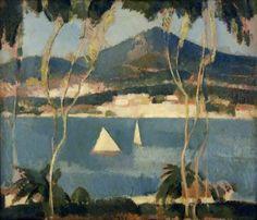 John Duncan Fergusson - Golfe-Juan (1937)