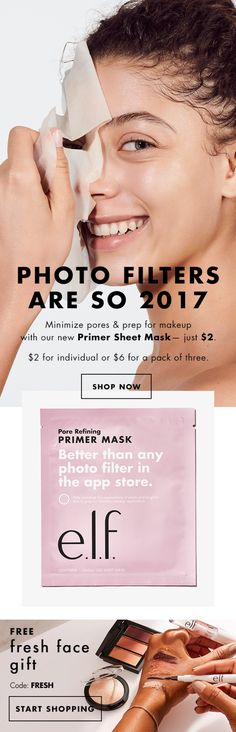 Better than any photo filter - NEW Primer Sheet Mask (Link in bio💋)