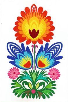 Polish Art Center - Polish Wycinanki Note Card And Envelope - Floral Paper Flower Art, Folk Art Flowers, Paper Art, Polish Folk Art, Scandinavian Folk Art, Hungarian Embroidery, Egg Art, Mexican Folk Art, Hand Embroidery Designs