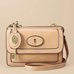 Fossil Vintage Re-Issue Cross-body Purse - $148