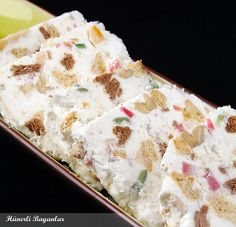 Kuru Meyveli Parfe Parfait Recipes, Foods To Eat, Sorbet, Granola, Waffle, Great Recipes, Potato Salad, Tart, Ice Cream