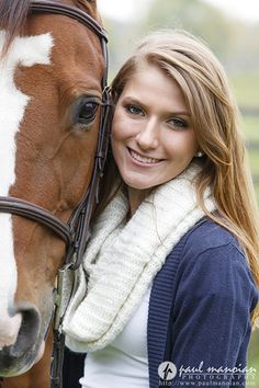 Senior Pictures with Horses Metro Detroit Photographer senior pictures horses michigan detroit 20131015a