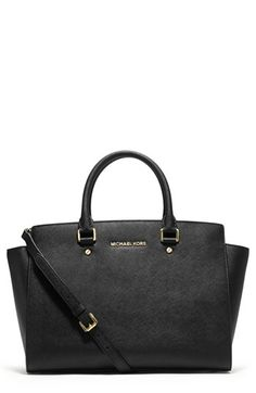 MICHAEL+Michael+Kors+'Large+Selma'+Zip-Top+Satchel+available+at+#Nordstrom
