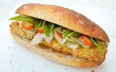 Katsu Banh Mi: Crispy Tofu Cutlet Sandwich [Vegan]   One Green Planet