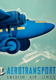 Anders Beckman - Swedish Air Lines, 1932.