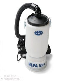 New GV 6 Professional Backpack HEPA Vacuum