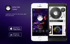 App Gotha-club Cannes Mixtape, Google Play, Android App, Applications Mobiles, Mobile Application, Cannes, Phone, Gotha, Telephone
