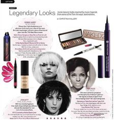 Yves Rocher's Felt Tip Liner - 12h was in the pages of Go Magazine. #makeup #yvesrocher