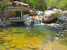 El Eden, a paradise on earth located south of Puerto Vallarta, up river from Mismaloya beach.