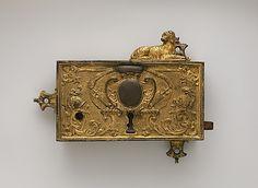 Lock Date: 18th century Culture: French Medium: Gilt bronze