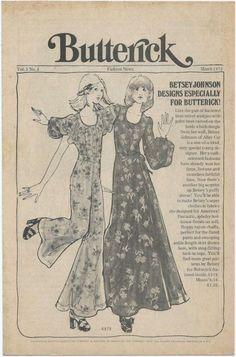 Betsey Johnson: Butterick Patterns