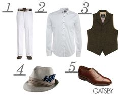 The Great Gatsby male style - See best of PHOTOS of The Great Gatsby films