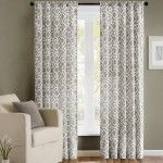 The Madison Park Delray Printed Diamond Cotton Blend Curtain Panel has a rod pocket at the top that allows you to slip it into place on the curtain. Sheer Curtain Panels, Window Panels, Window Coverings, Window Treatments, Room Darkening Curtains, Drapes Curtains, Drapery, Bedroom Curtains, Target Curtains