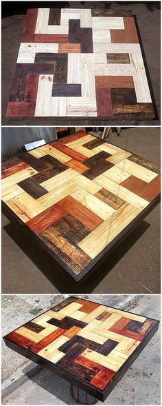 Don't waste the available wooden planks present at your place and design out this beautiful pallet idea given in the picture. The delightful arrangement of recycled wood pallet stacks is giving this D Wood Pallet Recycling, Pallet Crafts, Recycled Pallets, Diy Pallet Projects, Wooden Pallets, Recycled Wood, Wood Projects, Pallet Ideas, Pallet Wood
