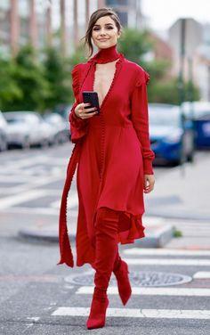 CoCo is Haute - jordydior: Olivia Culpo in NYC.