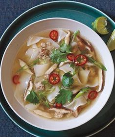 Thai Pork and Noodle Soup