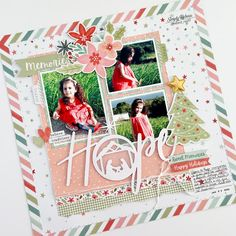 Christmas Scrapbook Layouts, Kids Scrapbook, Scrapbook Paper Crafts, Scrapbooking Layouts, Paper Crafting, Scrapbook Pages, Merry Christmas Darling, Lay Outs, Big Photo