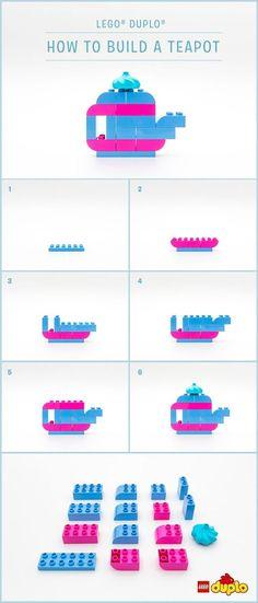 Lego duplo creation ideas // kids activities