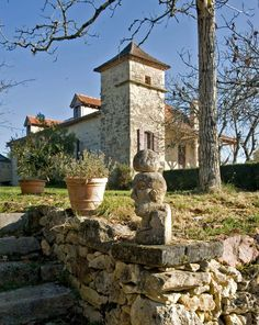 Rescuing an old stone farmhouse in France required a dig through layers of junk and concrete. Wooden Windows, Old Stone, Maine House, Pathways, Ny Times, Knock Knock, The Locals, Acre, Exotic