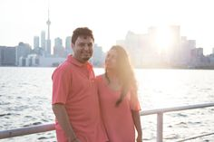 Toronto skyline sunset engagement session - Photo by Shelby Morell Wedding Engagement, Engagement Session, Toronto Skyline, Engagement Photography, Sunset, Couple Photos, Collection, Couple Shots, Couple Photography