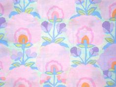 Kaffe Fassett Fan Flower Pastel pink Rowan Fabrics FQ or more on Etsy, £3.65