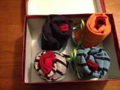 baby shower onesie cupcakes
