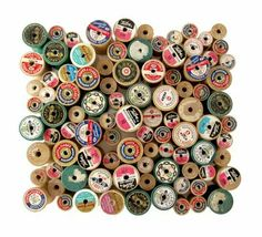 so many projects can start with a wooden spool -- i'm leaning towards the wine stoppers