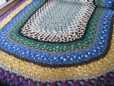 I want to make some rag rugs for the children's rooms.