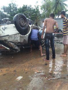 3 die in major accident on Eastern Freeway, Chembur entry blocked 2