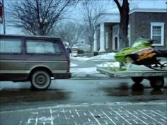 Funny (and Insightful) Arctic Cat Firecat Snowmobile Commercial