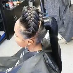 summer braids, braids vs twist, braids for short black girl, kids braids hairstyles braids all around your head, afro braids after braids wash. Black Hair Updo Hairstyles, Short Afro Hairstyles, Weave Ponytail Hairstyles, Ponytail Styles, African Braids Hairstyles, Straight Hairstyles, Short Hair Styles, Natural Hair Styles, Braid Styles