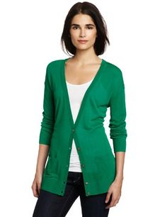 Amazon.com: Vince Camuto Women's Button Down Cardigan: Clothing