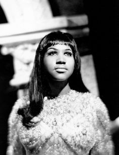 Glory be to the queen. Aretha in the mid 1960s.