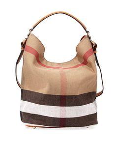 8f0c6f8bee4c Burberry Susanna Medium Check Canvas Tote Bag
