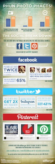 7 Tips for Making the Most of Your Social Media Graphics (Infographic) - Facebook, Twitter, Pinterest