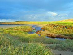 November morning sun in Machir Bay, Isle of Islay
